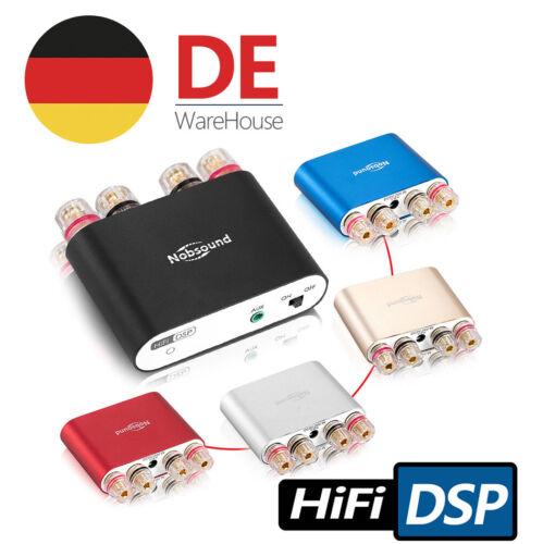 Nobsound NS-10G PRO Mini Bluetooth Amplifier Stereo Hi-Fi DSP Verstärker Schwarz