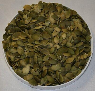 Kürbiskerne, geschält, Grade A, schalenlos, 99,95 % Reinheit, 2,5 kg (€ 4,80/kg)