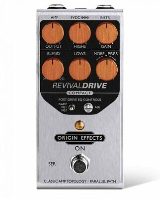 Origin Effects RevivalDrive Revival Drive Compact Overdrive Effect Pedal New