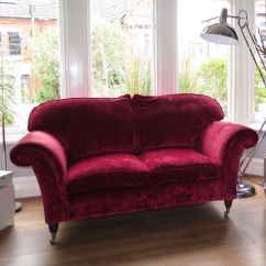 Lycksele Chair Bed Covers At Home Sofa Laura Ashley Cranberry Velvet | In Erdington, West Midlands Gumtree