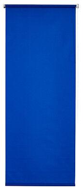 Klemmrollo Luxury  Sonnenschutzrollo mit Abdunklung königsblau 45 - 100 cm breit