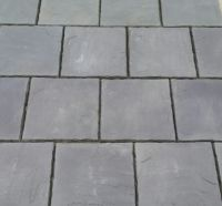 Concrete Paving Patio Slabs in Charcoal. 600 x 600 | in ...