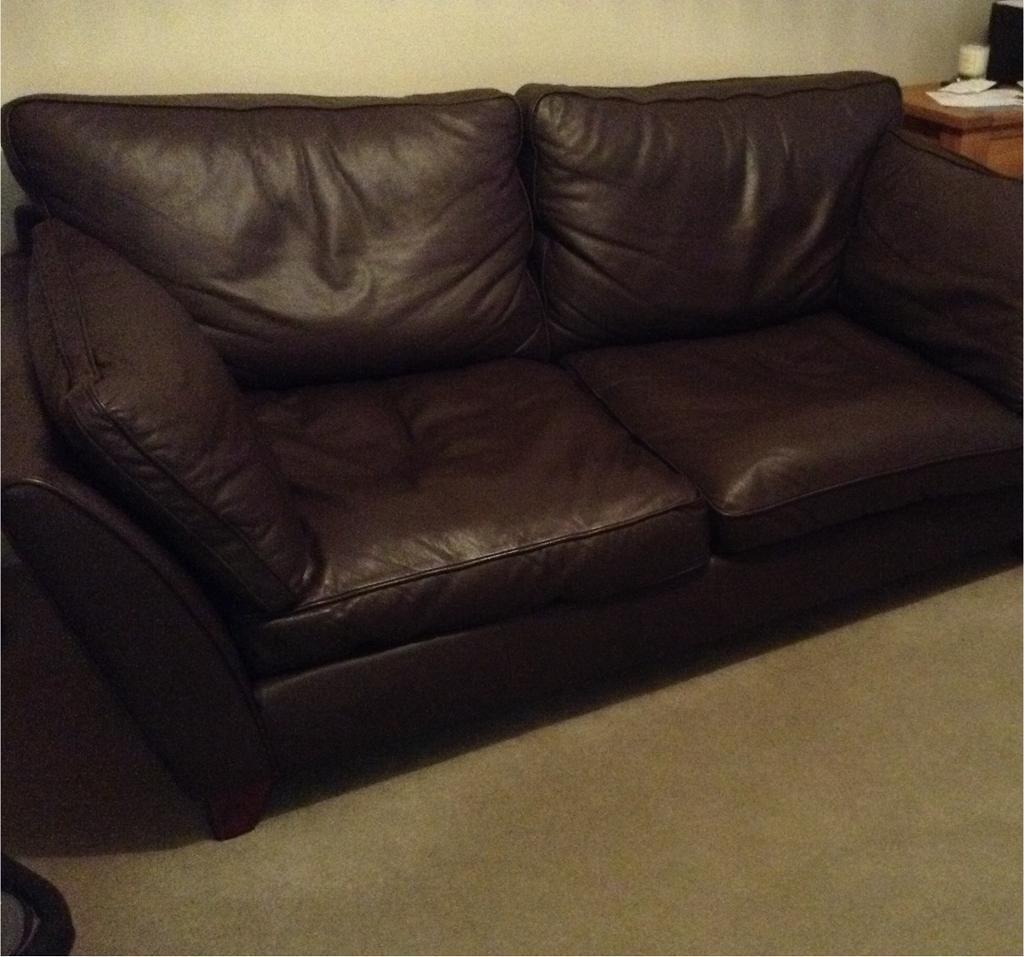 barletta sofa sectional bed microfiber m s large 2 seater brown leather in abingdon