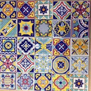Ceramica Vietri Patchwork Piastrelle 10x10 Decorate100 Pz  eBay