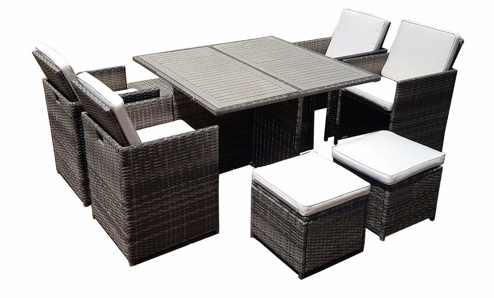 Patio Furniture Table And Chairs Rattan Wicker Conservatory Outdoor Garden Furniture Patio