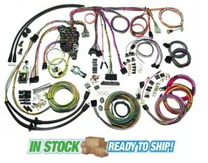 1955 chevy headlight switch wiring diagram 2005 jeep tj stereo 57 harness ebay 1957 belair classic update american autowire kit 500434