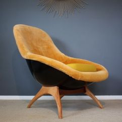 Mid Century Egg Chair Covers Vancouver Lurashell Gemini Retro Vintage 60s In Dover