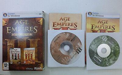 Age of Empires III - 3 Gold Edition inkl. The War Chiefs für PC - CIB - Komplett