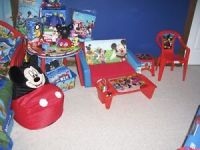 Mickey Mouse Clubhouse Bedroom Playroom Toys Lamp Table ...