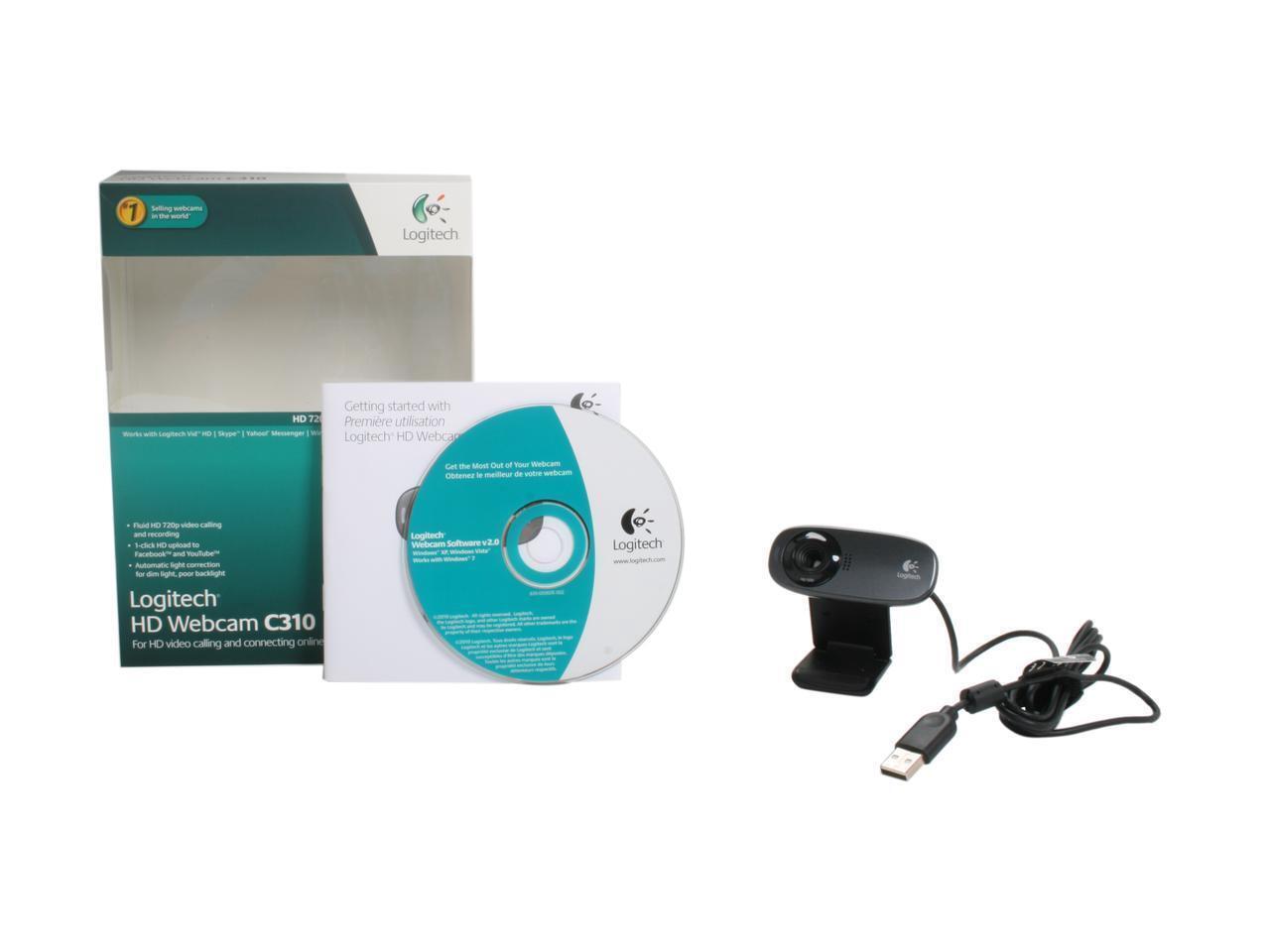 Logitech C310 Web Cam 97855067272 | eBay