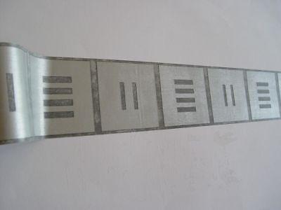 Bordüre selbstklebend 10cmx5m Chrome silver effect silber 33150 (1 Bordüre)