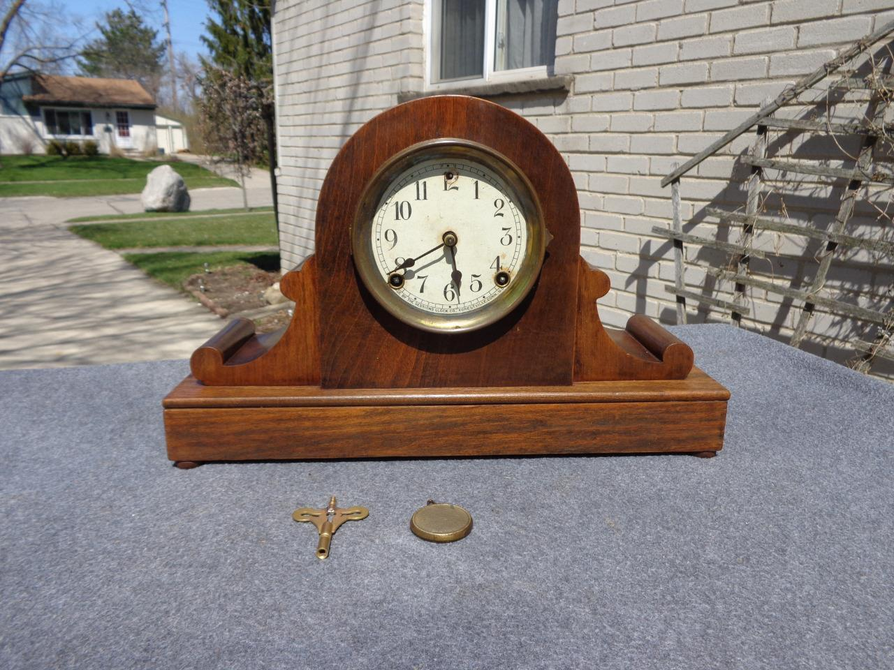 Vintage Sessions Mantle Clock Identification - Year of Clean