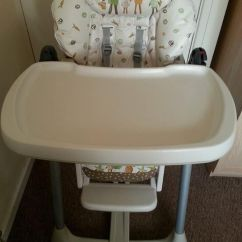 High Chair Cover Replacement Mamas And Papas Wall Hugger Riser Recliner Chairs Prima Pappa Evo In Kirkstall West