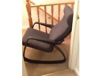 ikea rocking chairs high top table and outdoor chair stools other seating for sale gumtree model is poang