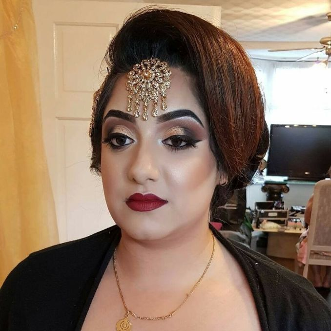 professional asian/indian hair and makeup artist in