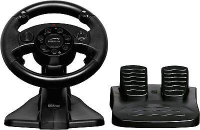 Speedlink DARKFIRE Racing Wheel Lenkrad inkl. Pedale PC PS3 K3/F2-4847 UVP.:44€