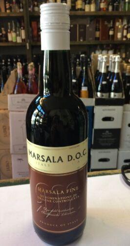 aus Konkursmasse berühmter Likörwein Italien 1x0,75l Marsala D.O.C Fine Sizilien