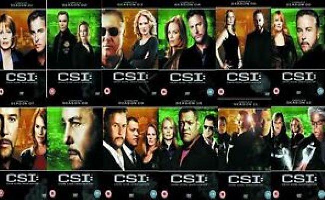 Csi Las Vegas Complete Tv Series Dvd Collection 77 Discs