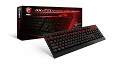 MSI GK-701 Mechanical GAMING Keyboard, Cherry MX Brown Switch, Red LED, ...