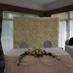 Chair Covers Hire Bolton Cover Peterborough Asian Wedding Stages Floral Mehndi House Lighting Champagne Or White Ivory Flower Wall To