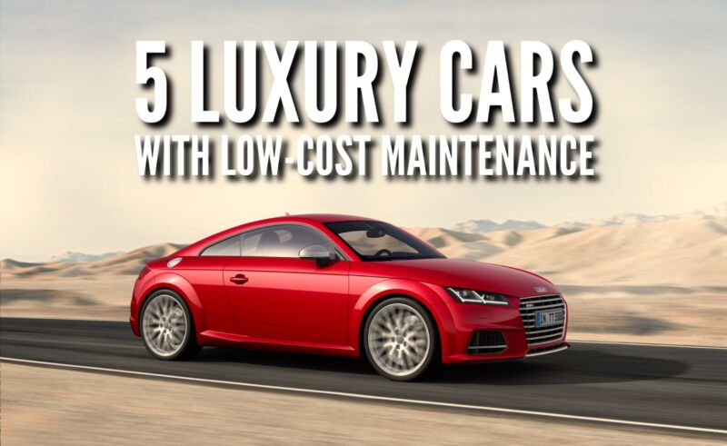 5 Luxury Cars With Lowcost Maintenance  Ebay