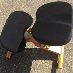 Coccyx Kneeling Chair High For Dogs Stool Posture With Visco Memory Foam