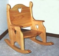 Toddler Rocking Chair Plans PDF Woodworking