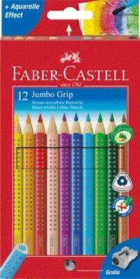FABER-CASTELL Farbstift JUMBO GRIP 12er Kartonetui