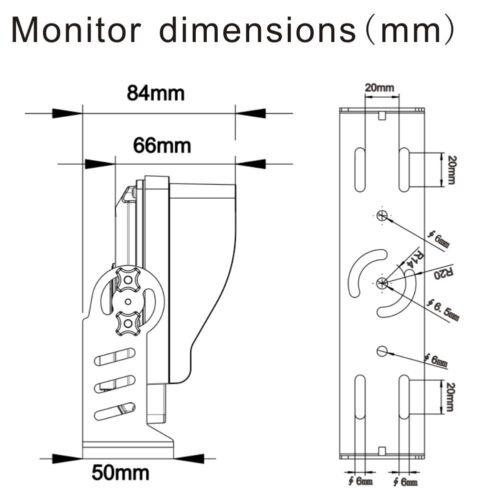 Car Security Reversing Camera Waterproof 7