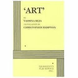 Art: By Yasmina Reza, Christopher Hampton