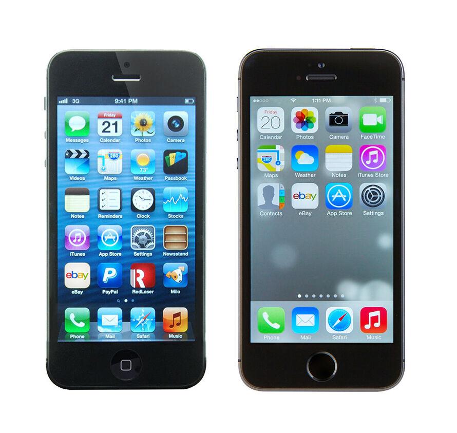 Iphone 5 Vs Iphone 5s  Ebay