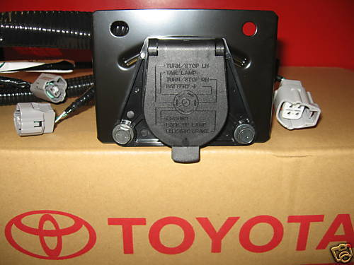 2005 2015 TACOMA TRAILER TOW HITCH WIRE HARNESS 7 PIN 82169 04010