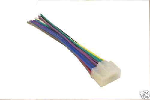 Panasonic Wiring Harness Carstereo 16 Pin Wire Connector Mobilistics