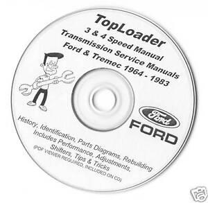 Ford toploader 4-speed overdrive