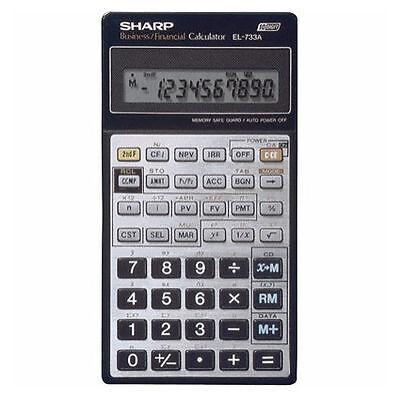 Sharp El 733a Financial Calculator For Sale Online Ebay
