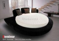 Modern platform Round Bed with pillow top mattress SB017