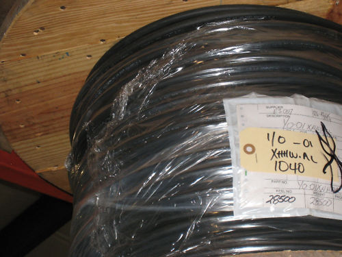 1 0 Awg Aluminum Xhhw 2 600v Building Wire Xlpe