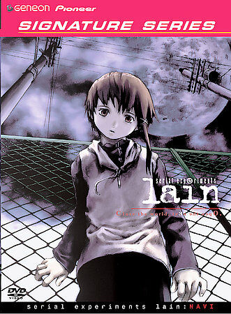 Lain Vol 1 Navi Dvd 2004 Geneon Signature Series