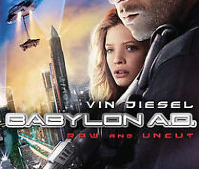 Babylon A D Dvd 2009 Checkpoint Sensormatic Widescreen Unrated Extended Cut