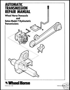 WHEEL-HORSE-EATON-7-TRANSMISSION-REPAIR-MANUAL