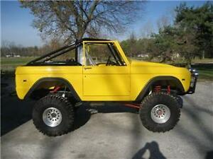 Roadster Roll Bar 25  Roll Cage 6677 Ford Bronco | eBay