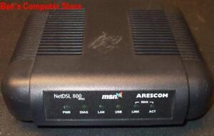 Arescom ND860VUE MSN NetDSL 800 Broadband DSL Modem eBay
