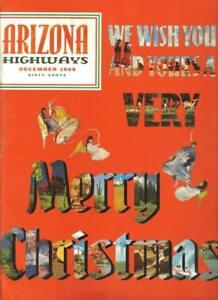1969 DECEMBER ARIZONA HIGHWAYS ARIZONA CHRISTMAS TIME EBay