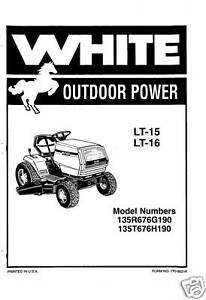 White-LT-15-LT-16-Lawn-Tractor-Owners-Manual