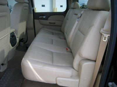 2010 2013 Chevrolet Silverado Crew Leather Interior Seat