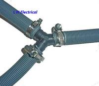 Universal Dishwasher Drain Hose Drain Hose Y Piece Joiner ...