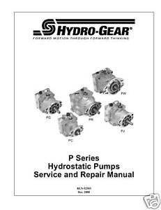 Hydro-Gear-P-Series-Hydrostatic-Pumps-Repair-Manual