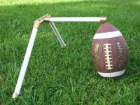 Football Kicking Holder Tee Field Goal Gold Hold | eBay