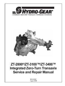 Hydro-Gear-ZT-2800-ZT-3100-ZT-3400-Trans-Repair-Manual
