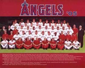 2005 La Angels Of Anaheim Mlb Baseball Team 8x10 Photo